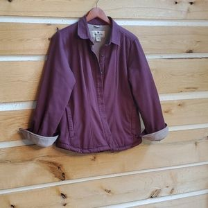 Woolrich Lined Purple long sleeve L 💜  shirt